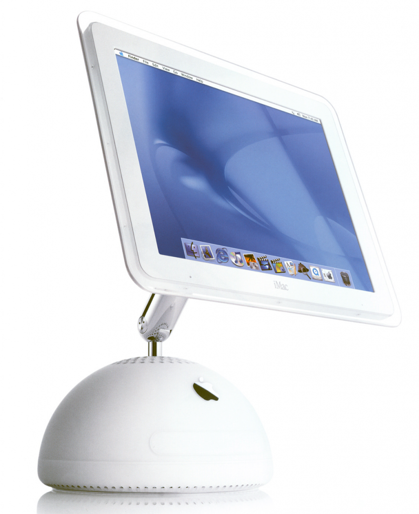 Weirdness + practicality. So much better than the iMacs of today.